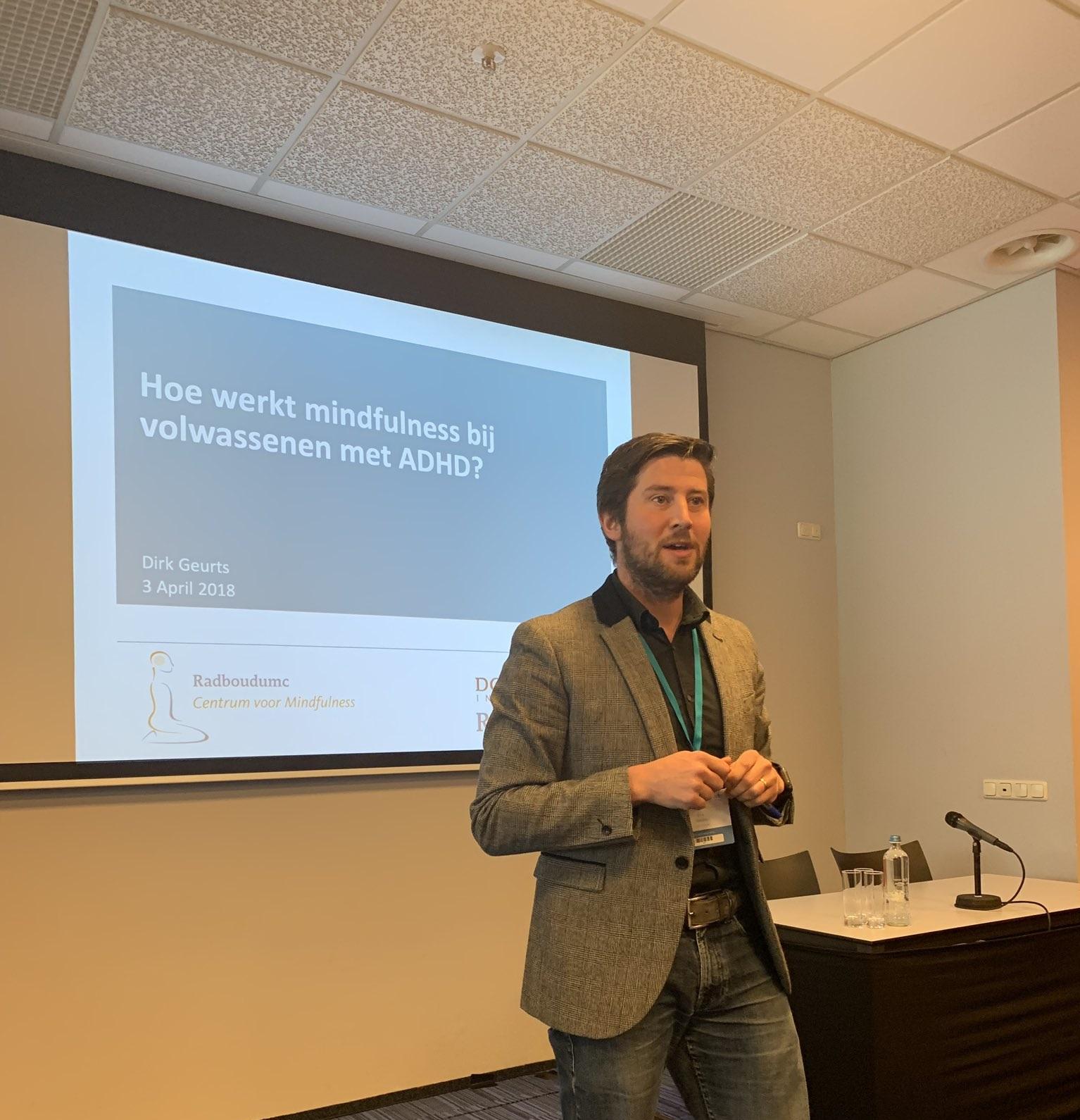 Mindfulness symposium tijdens voorjaarscongres Nederlandse Vereniging voor Psychiatrie