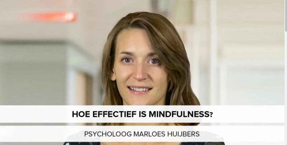 Hoe effectief is mindfulness? | Podcast met Marloes Huijbers